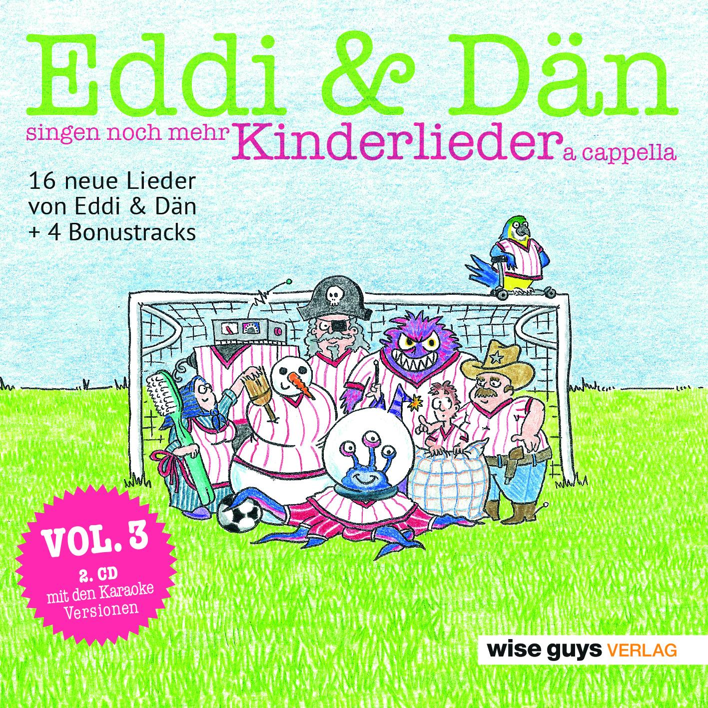 Vol 3 Eddi Dan Singen Noch Mehr Kinderlieder A Cappella Kindermusikwelt